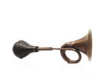 Bronze Taxi horn with rubber Bulb
