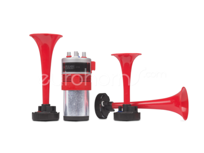 Fiamm Tour Horn 12v Mt3i cycling air horn set