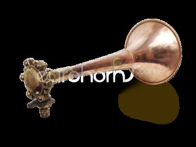 Kockums Super Tyfon classic copper and brass Air horn