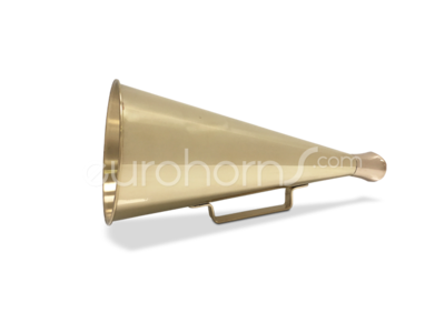brass polished megaphone
